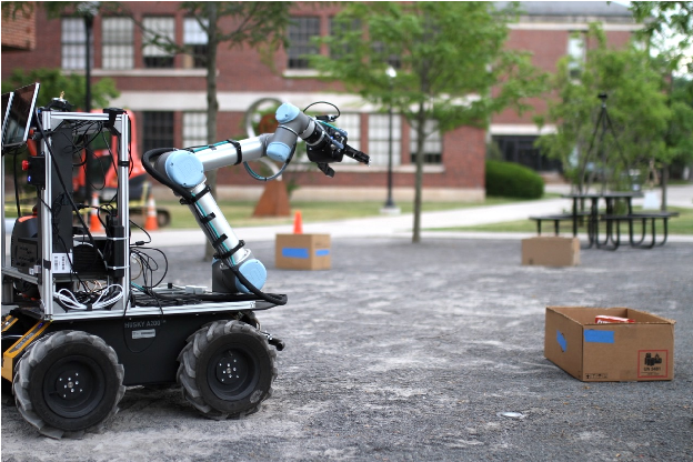 Figure 1 for Language Understanding for Field and Service Robots in a Priori Unknown Environments