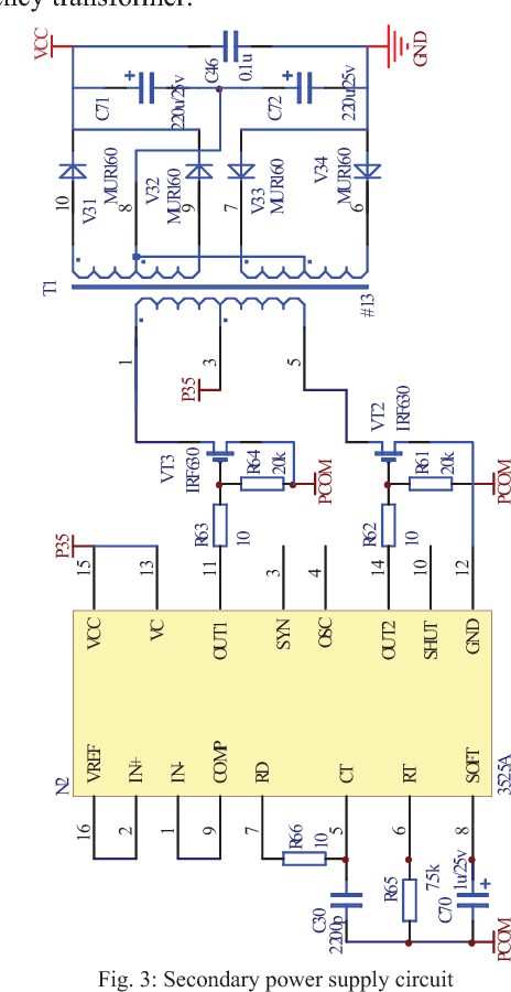 Figure 2 from Switching power supply design suitable for