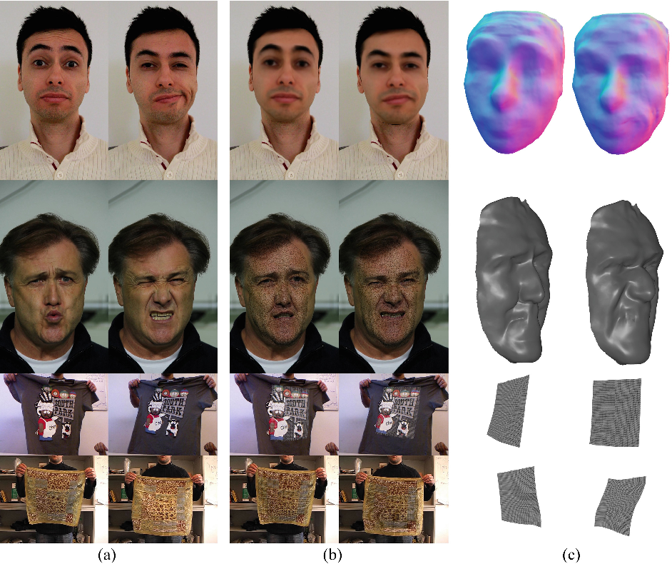 Figure 4 for NRST: Non-rigid Surface Tracking from Monocular Video