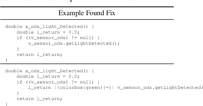 Figure 1 for Generating Bug-Fixes Using Pretrained Transformers
