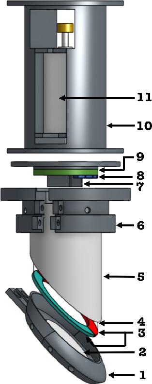 Figure 3 for Digger Finger: GelSight Tactile Sensor for Object Identification Inside Granular Media