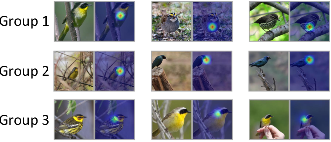 Figure 3 for Towards Improved and Interpretable Deep Metric Learning via Attentive Grouping