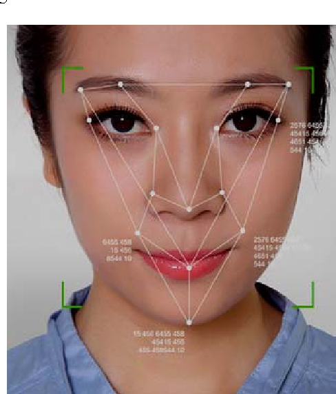 Figure 1 Mobile phone face detection