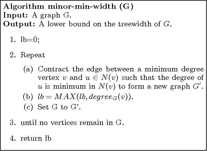 Figure 1 for A Complete Anytime Algorithm for Treewidth