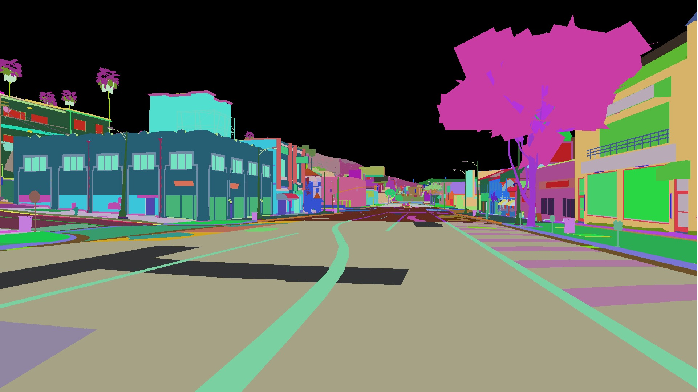 Figure 1 for Unlimited Road-scene Synthetic Annotation (URSA) Dataset