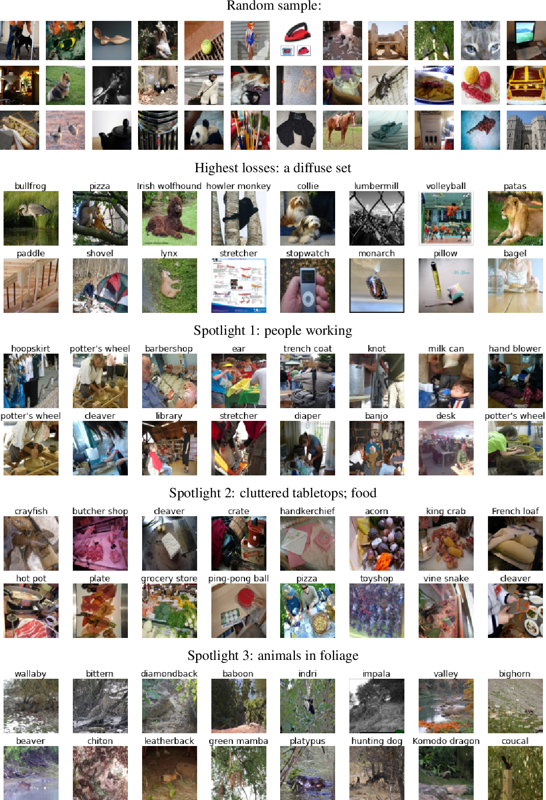 Figure 3 for The Spotlight: A General Method for Discovering Systematic Errors in Deep Learning Models