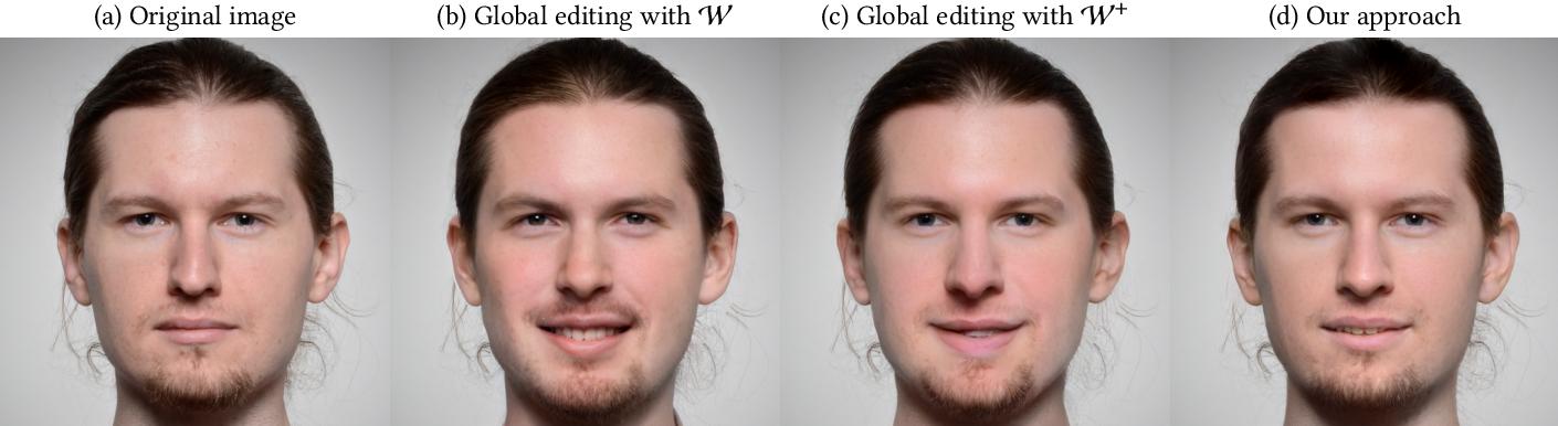 Figure 4 for Real Image Inversion via Segments