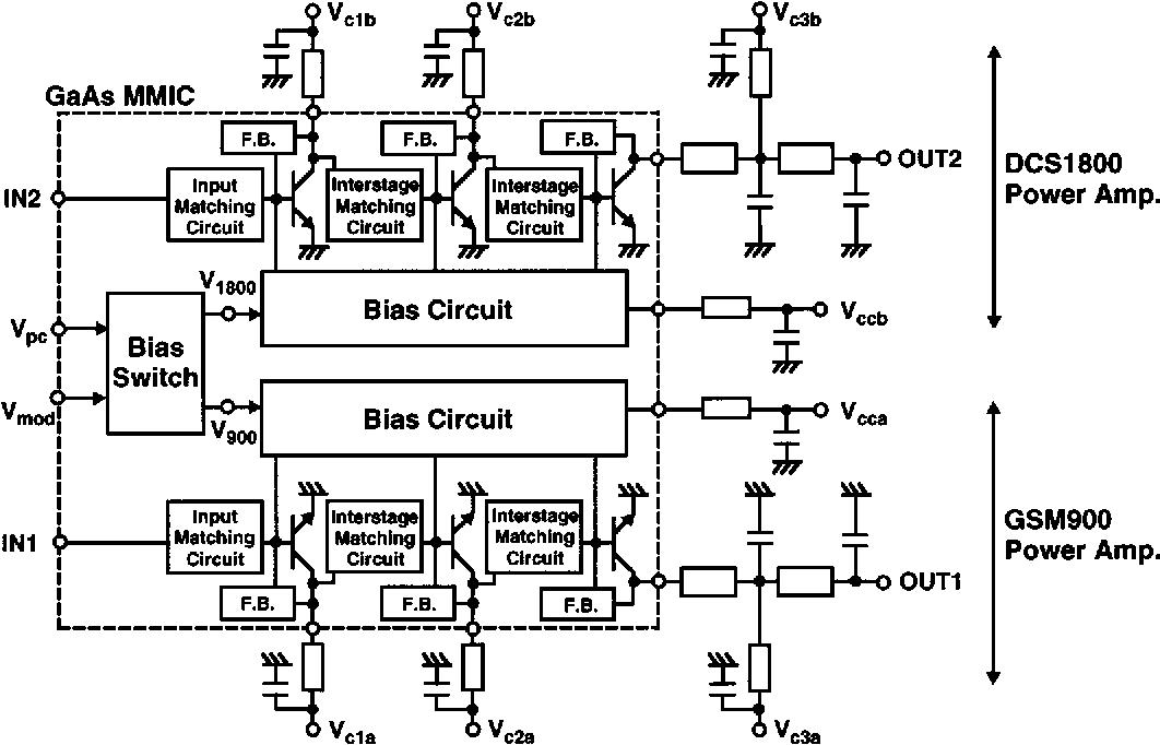 Figure 9 from A 3.2-V operation single-chip dual-band AlGaAs/GaAs ...