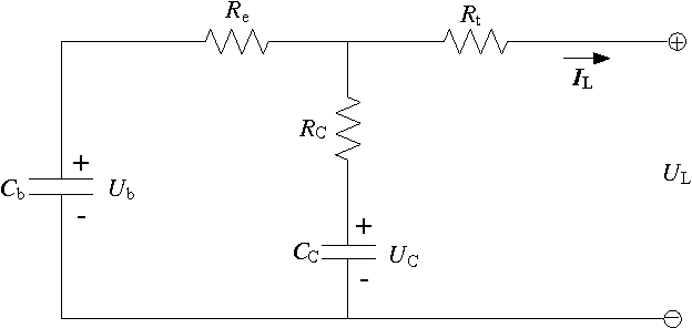schematic diagram of the rc model