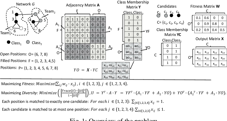 Figure 1 for On Measuring the Diversity of Organizational Networks