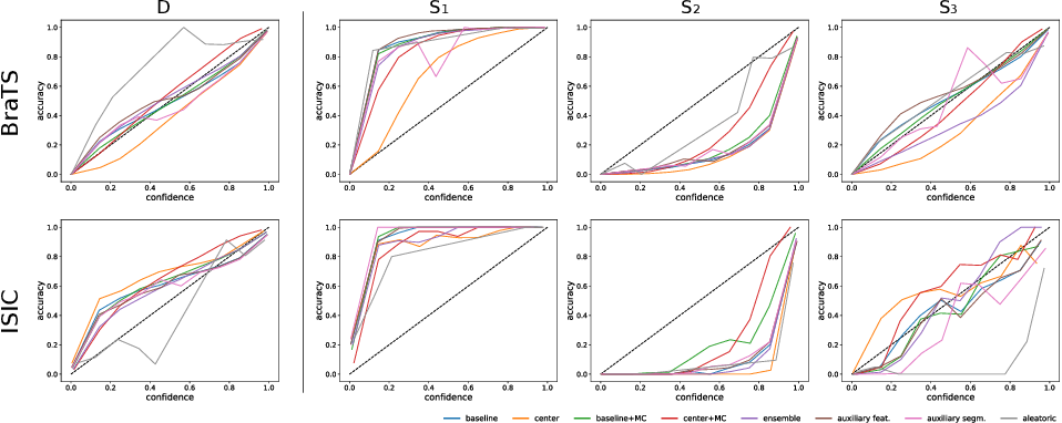 Figure 1 for Assessing Reliability and Challenges of Uncertainty Estimations for Medical Image Segmentation