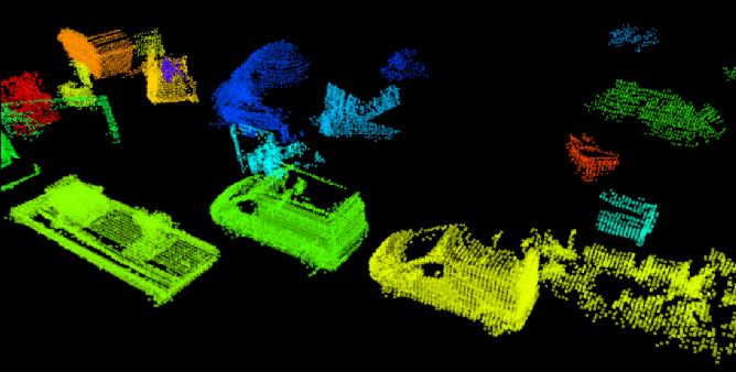 Figure 3 for SegMap: Segment-based mapping and localization using data-driven descriptors