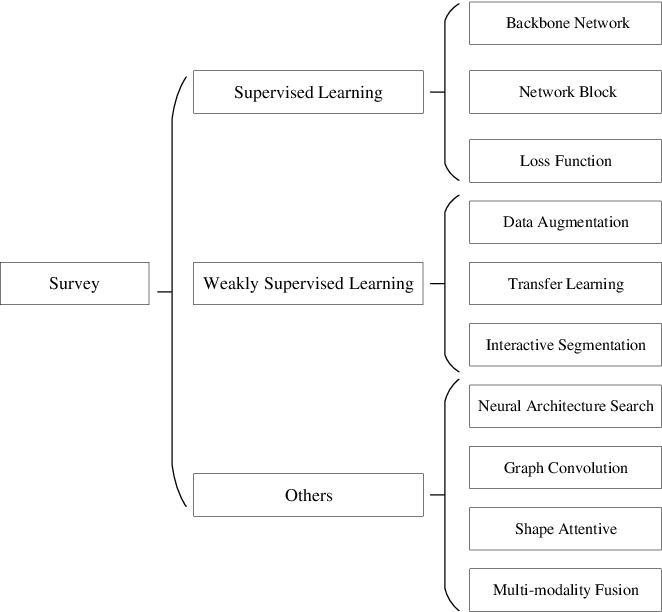 Figure 1 for Medical Image Segmentation Using Deep Learning: A Survey