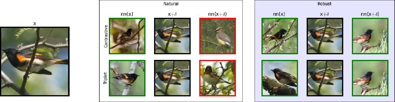 Figure 1 for Exploring Adversarial Robustness of Deep Metric Learning