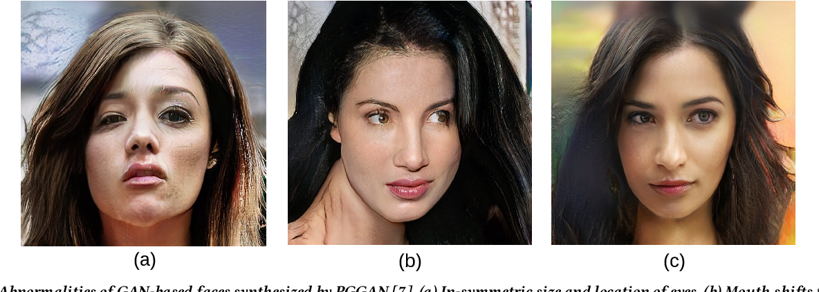 Figure 3 for Exposing GAN-synthesized Faces Using Landmark Locations