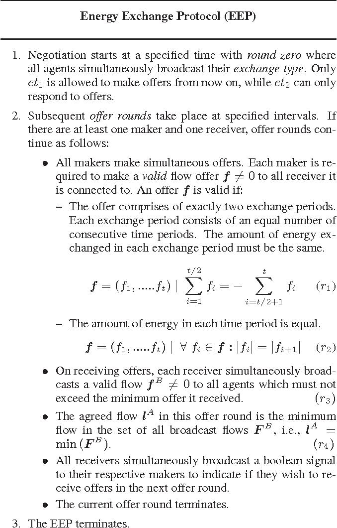 Figure 1: The Energy Exchange Protocol (EEP)