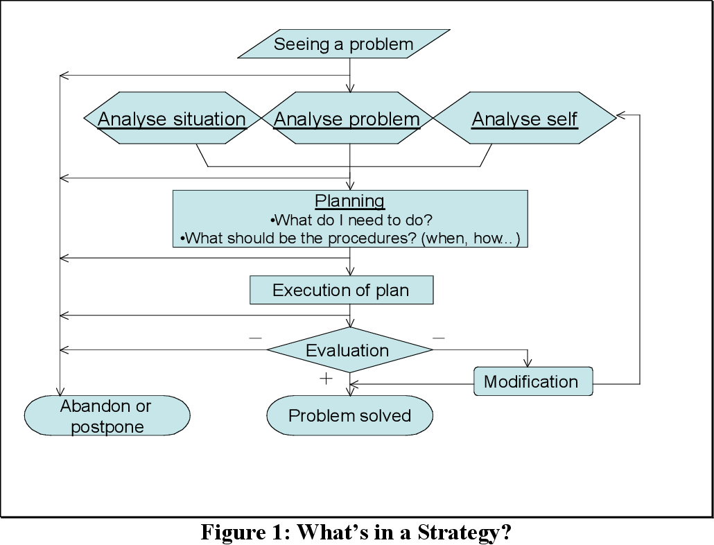 Figure 1: What's in a Strategy?