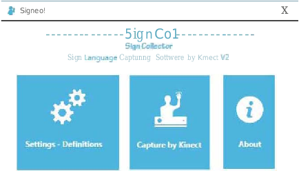 Figure 2 for SignCol: Open-Source Software for Collecting Sign Language Gestures
