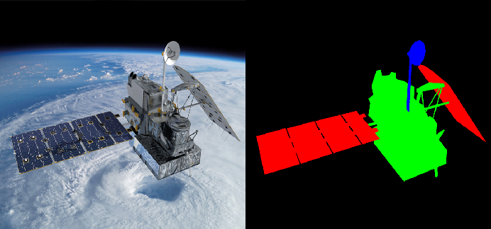 Figure 3 for A Spacecraft Dataset for Detection, Segmentation and Parts Recognition