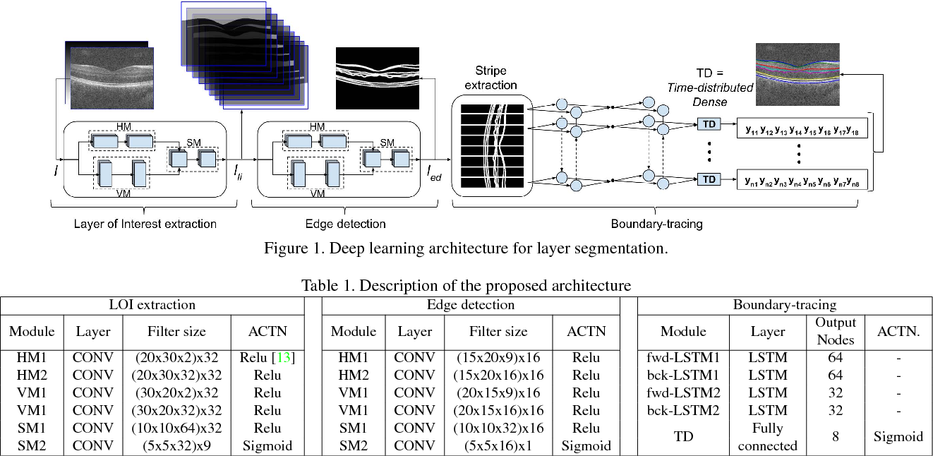Figure 1 for A deep learning framework for segmentation of retinal layers from OCT images