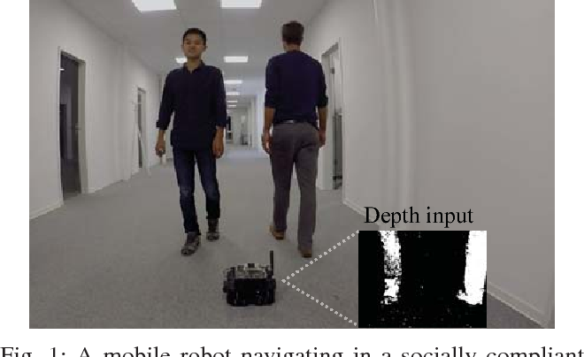 Figure 1 for Socially Compliant Navigation through Raw Depth Inputs with Generative Adversarial Imitation Learning