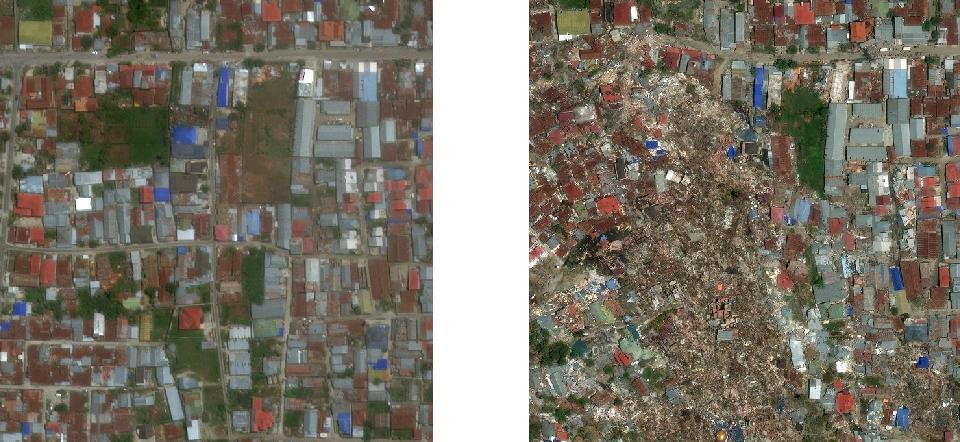 Figure 1 for CNN-Based Semantic Change Detection in Satellite Imagery