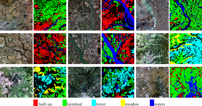 Figure 1 for Large-scale Land Cover Classification in GaoFen-2 Satellite Imagery