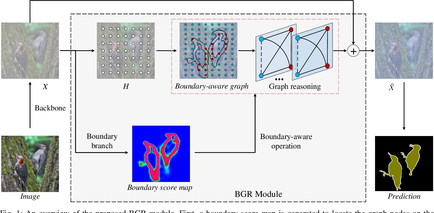 Figure 1 for Boundary-aware Graph Reasoning for Semantic Segmentation