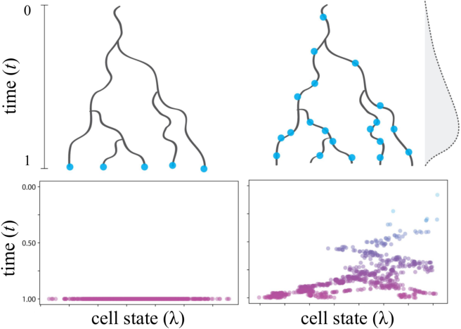 Figure 1 for Reconstructing probabilistic trees of cellular differentiation from single-cell RNA-seq data