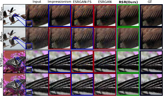 Figure 1 for Generalized Real-World Super-Resolution through Adversarial Robustness