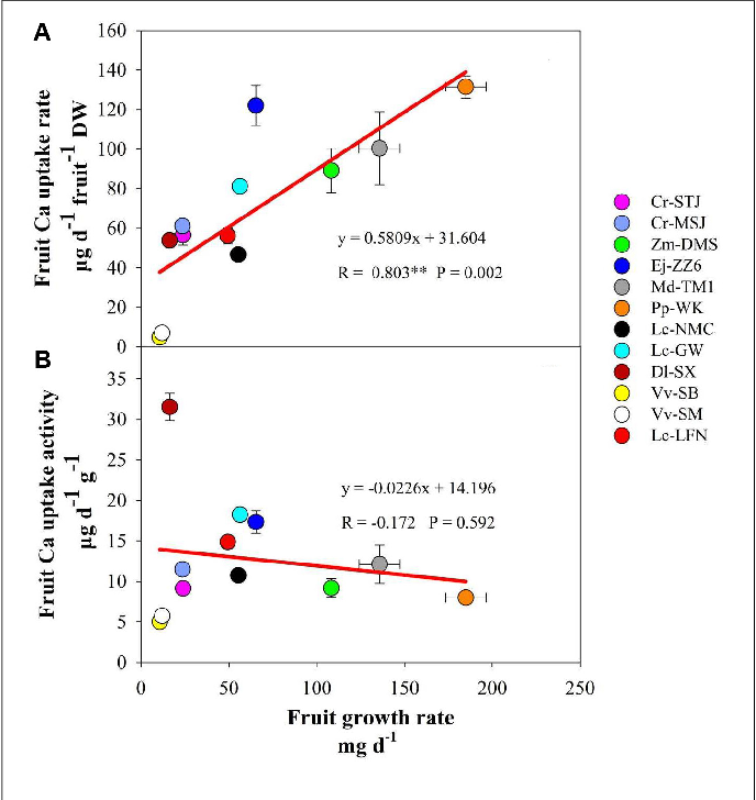 Linking Fruit Ca Uptake Capacity to Fruit Growth and Pedicel Anatomy ...