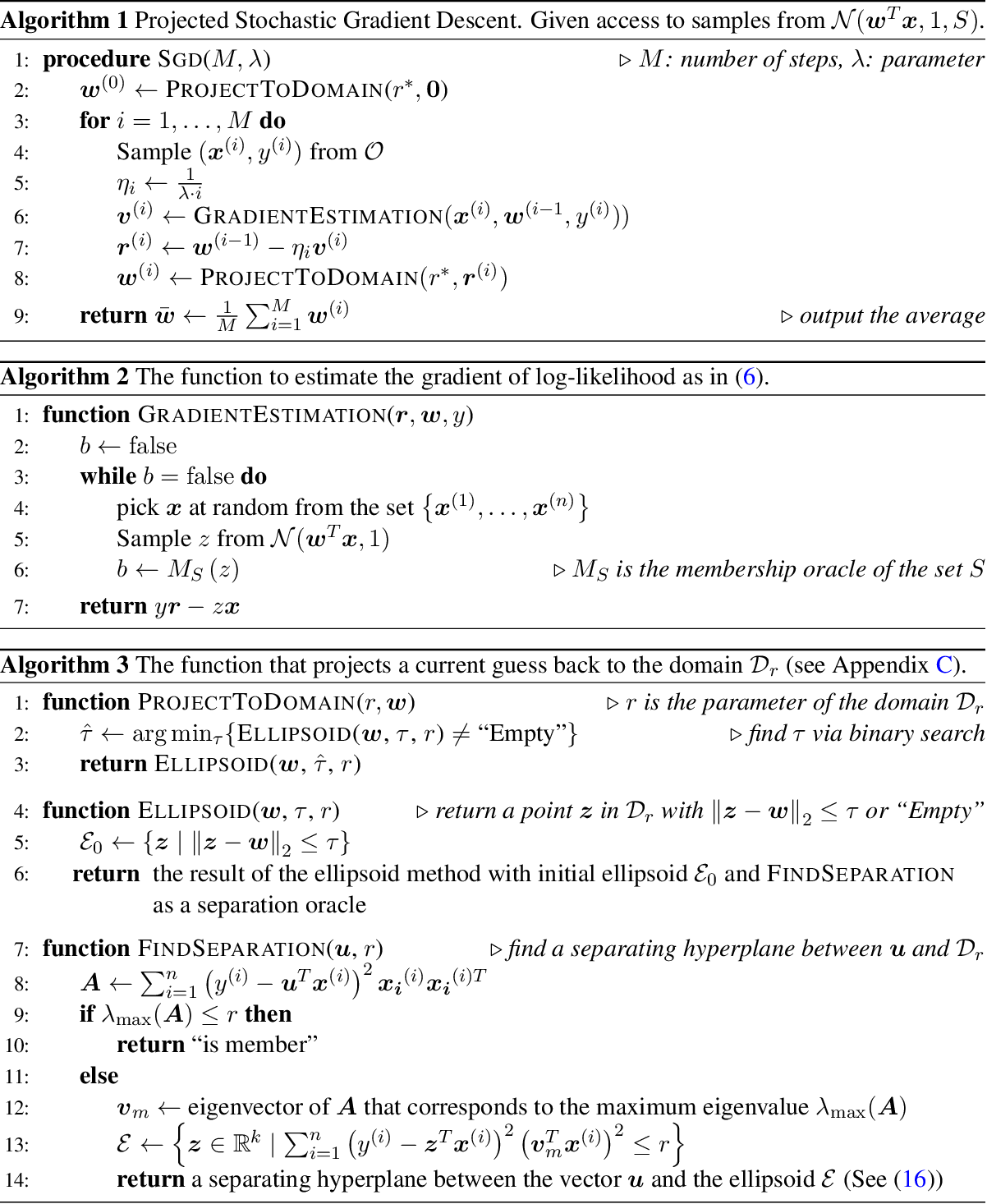 Figure 1 for Computationally and Statistically Efficient Truncated Regression