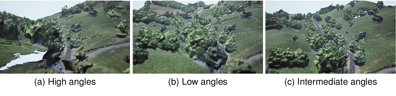 Figure 4 for A simulation environment for drone cinematography