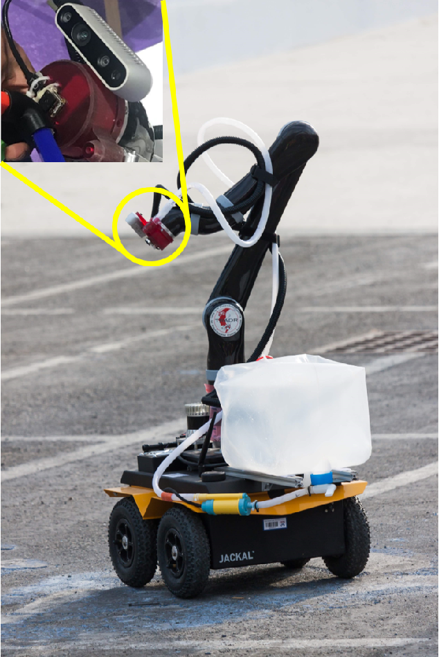 Figure 1 for Design and Deployment of an Autonomous Unmanned Ground Vehicle for Urban Firefighting Scenarios