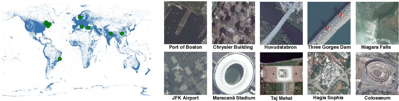 Figure 1 for Learning to Interpret Satellite Images in Global Scale Using Wikipedia