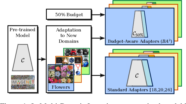 Figure 1 for Budget-Aware Adapters for Multi-Domain Learning
