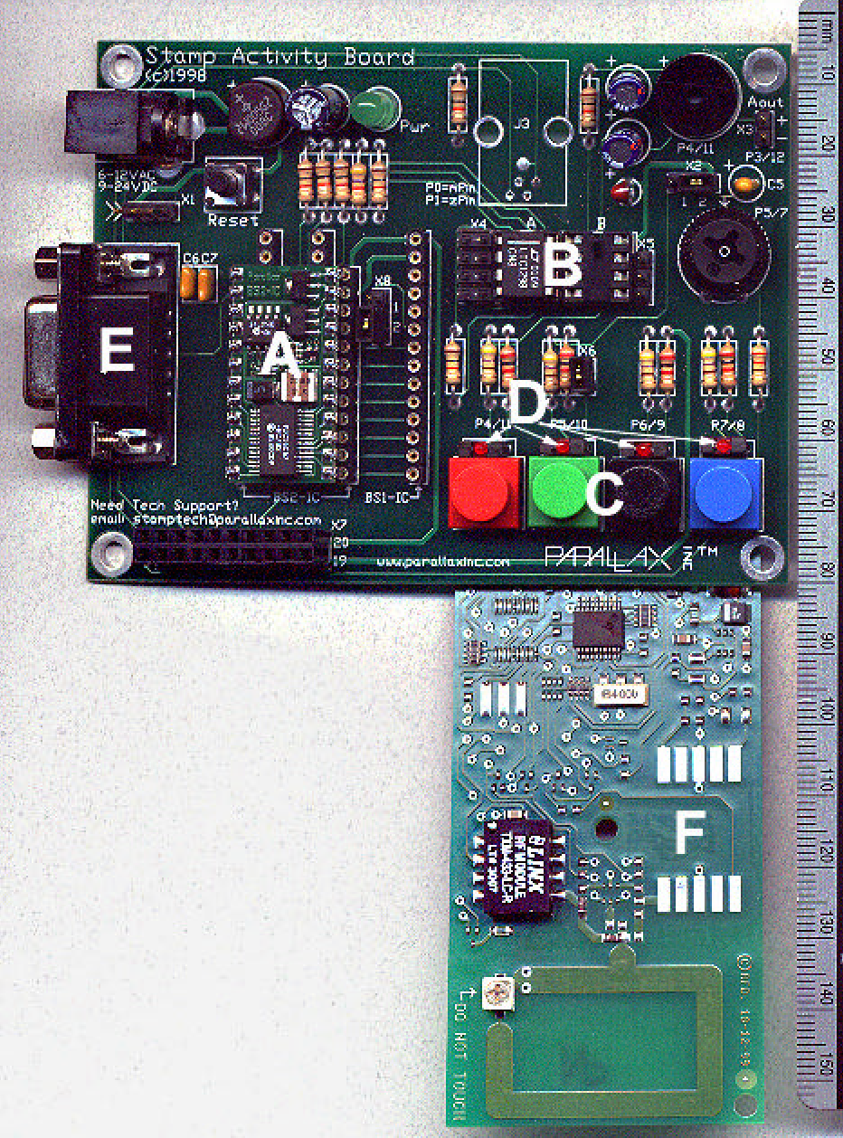 Figure 4 From Networked Autonomous Field Deployable Fire Sensors Circuits It Is Also Used In Analog Computers And Analogtodigital Photograph Of The Prototype Afd A Parallax Basic Stamp Microprocessor