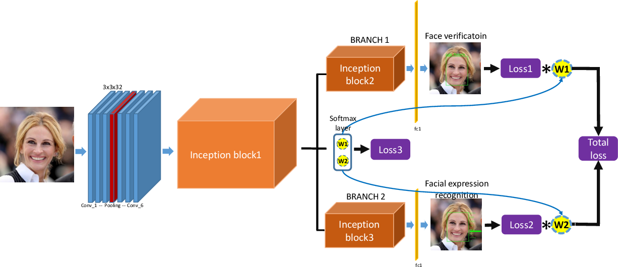 Figure 1 for Dynamic Multi-Task Learning for Face Recognition with Facial Expression