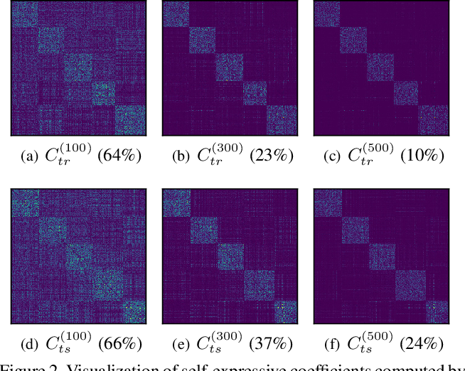 Figure 3 for Learning a Self-Expressive Network for Subspace Clustering