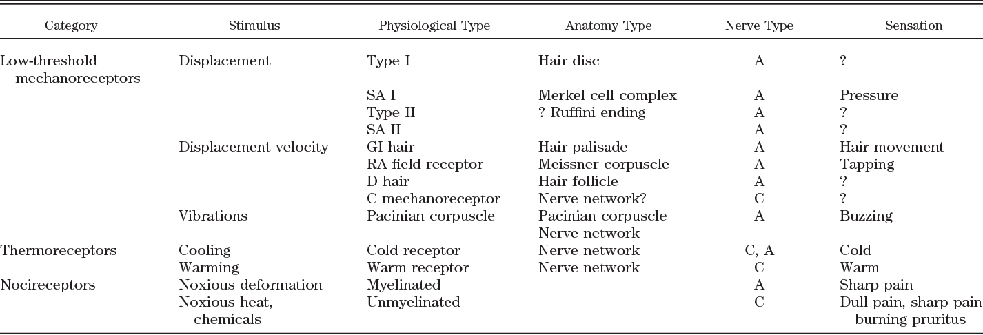 Neuronal control of skin function: the skin as a ...