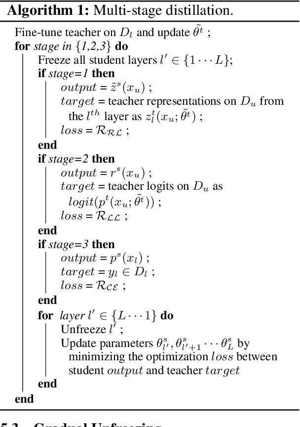 Figure 3 for XtremeDistil: Multi-stage Distillation for Massive Multilingual Models