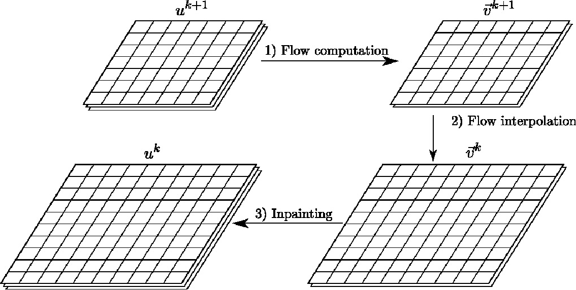 Figure 2 for On Variational Methods for Motion Compensated Inpainting