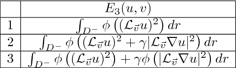 Figure 1 for On Variational Methods for Motion Compensated Inpainting