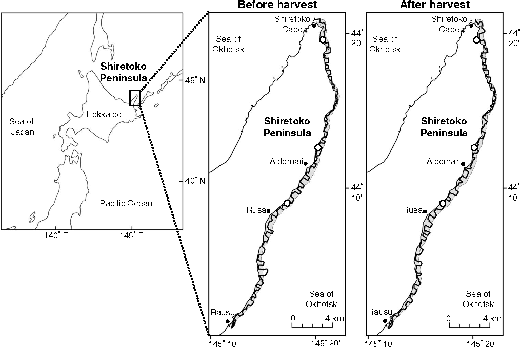 Figure 1 from Quantitative mapping of kelp forests (Laminaria spp ...