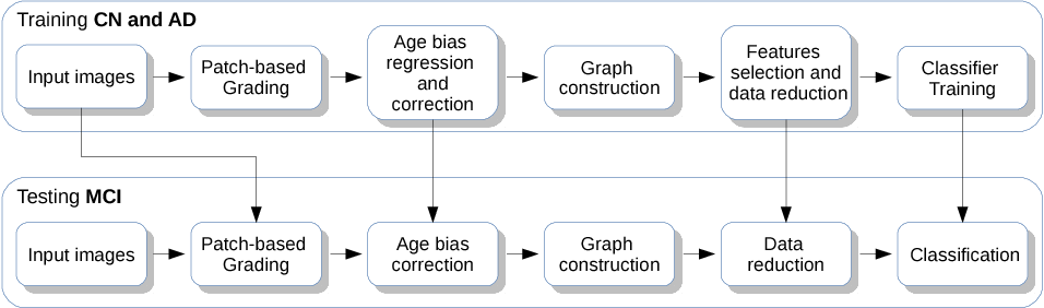 Figure 3 for Graph of brain structures grading for early detection of Alzheimer's disease