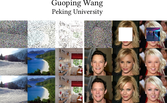 Figure 1 for X-GANs: Image Reconstruction Made Easy for Extreme Cases