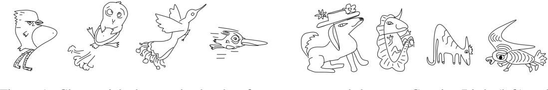 Figure 1 for Creative Sketch Generation