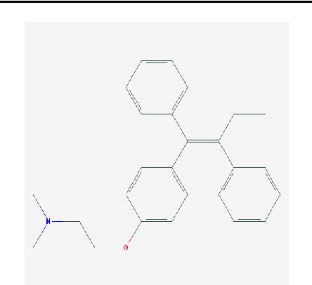Figure 1: Tamoxifen.