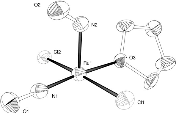 Figure 1 From Synthesis Of Rucl2no2thf And Its Double C N Bond