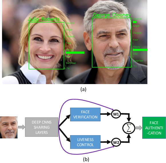 Figure 1 for FaceLiveNet+: A Holistic Networks For Face Authentication Based On Dynamic Multi-task Convolutional Neural Networks